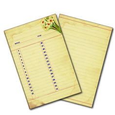 18073 Gypsy Moments Cards Du Month - monthly planner vintage style - 7gypsies