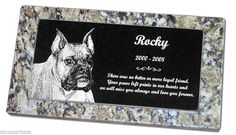 Affordable Pet Grave Markers | All markers come with a 100% Full Perpetual (never ends) Warranty.