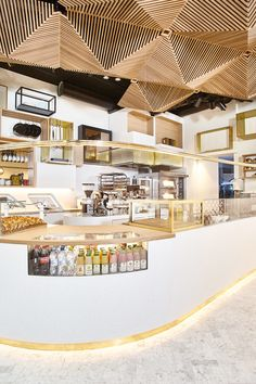 Designed by local design studio MONTAAG in collaboration with MAVERICK CONCEPTS, Bit Union, now open in Entra's new office building on Akersgata, is an expansion on BIT, the fast-casual restaurant concept that has served salads, baguettes and pastries to hungry Osloers since 1998.