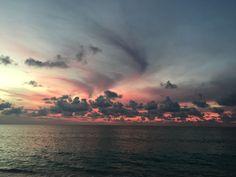 Gorgeous sky Seven Mile Beach