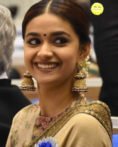 Keerti Suresh, India Beauty, Beautiful Indian Actress, Pretty Face, Indian Actresses, Beauty Women, Lovers, Instagram, Fashion