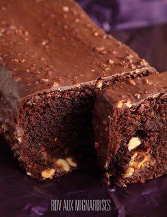 Cake infiniment chocolat pralin� aux noisettes