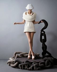 photo of a beautiful knitted dress- Knit Dreams from MitiMota