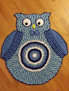 Crochet Owl Baby Afghan