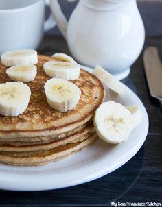 Peanut Butter and Banana Pancakes Recipe - RecipeChart.com