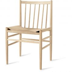 J80 Dining Chair - Natural Oak/Natural Seat