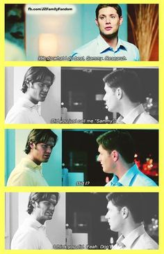 Jensen Ackles     Jared Padalecki   LOL!   ~Mama Winchester/Melissa