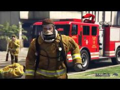 Firefighters of GTA V #GrandTheftAutoV #GTAV #GTA5 #GrandTheftAuto #GTA #GTAOnline #GrandTheftAuto5 #PS4 #games