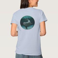 Apparel - Hawaiian Monk Seal, Endangered species series by wildlife artist Amber Marine ••• AmberMarineArt.com •••
