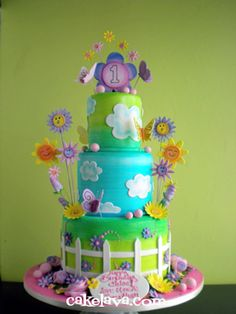 cakelava: Happy Garden Cake