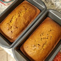 Preheat oven to 350 degrees F (175 degrees C). Grease and flour three 7x3 inch loaf pans. In a large bowl, mix together pumpkin puree, eggs, oil, water and sugar until well blended. In a separate bowl, whisk together the flour, baking soda, salt, cinnamon, nutmeg, cloves and ginger. Stir the dry ingredients into the pumpkin mixture until just blended. Pour into the prepared pans Downeast Maine Pumpkin Bread, Canned Pumpkin, Pumpkin Puree, Pancakes Easy, Tasty Recipe, Oil Water, 350 Degrees, Loaf Pan