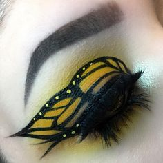 """476 Likes, 38 Comments - L I Z Z🌙B E A S L E Y (@glamourella) on Instagram: """"Brand New Eyes - Paramore I'm honestly SO pumped to show you guys this look!! I knew I wanted to do…"""""""