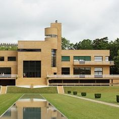 The Villa Cavrois by Robert Mallet Stevens built between 1929 32 and recently restored via misterngo French Architecture, Space Architecture, Surrealist Photographers, Mallet Stevens, Streamline Moderne, Buy Stuff, Home Upgrades, House On A Hill, Le Corbusier
