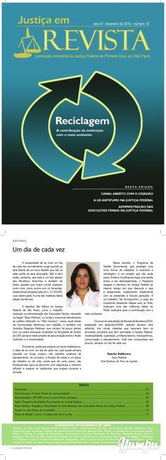 Versão PDF - Justiça Federal de Primeiro Grau em São Paulo - Magazine with 12 pages: Versão PDF - Justiça Federal de Primeiro Grau em São Paulo
