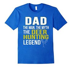 Men's Dad The Man The Myth The Deer Hunting Legend T-Shir... https://www.amazon.com/dp/B01MTWVLCP/ref=cm_sw_r_pi_dp_x_19BOybKDYGZ61
