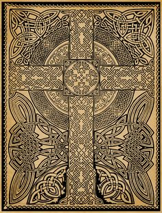 birdsofrhiannon:  celtic cross