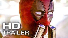 Deadpool ALL Trailer & Clips (2016)