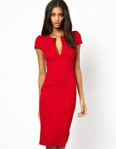 Dubonnet red cocktails dresses