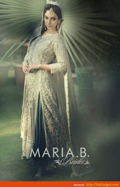 Simple, elegant and stylish are the words you can say about the latest catalog from Maria B bridal wear 2015.