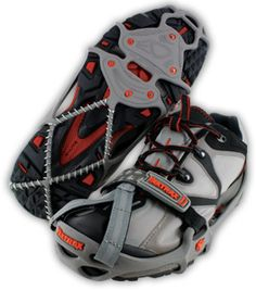 YakTrax for running on ice