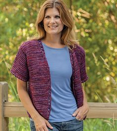 Ravelry: Grace Note pattern by Sheryl Thies - tunisian crochet cardigan sweater