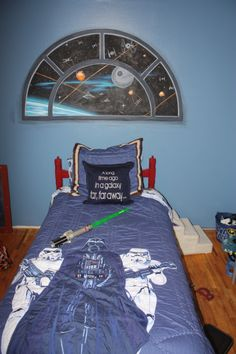 1000 images about star wars room ideas on pinterest for Boys star wars bedroom ideas