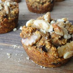 pumpkin spice muffins {gluten free & vegan}