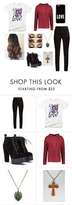 """""""Eleri"""" by pastel-freak ❤ liked on Polyvore featuring Yves Saint Laurent, Sixth June, Sevan Biçakçi and Givenchy"""