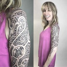 Celtic Tattoo Sleeve by Sean Parry