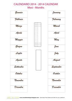 Calendario Perpetuo Provenzale - Provencal Perpetual Calendar