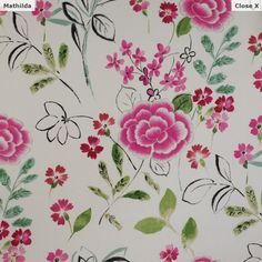 Designer fabric from Manuel Canovas, made in France available at Jane Hall Design. To see entire collection visit http://www.manuelcanovas.com/