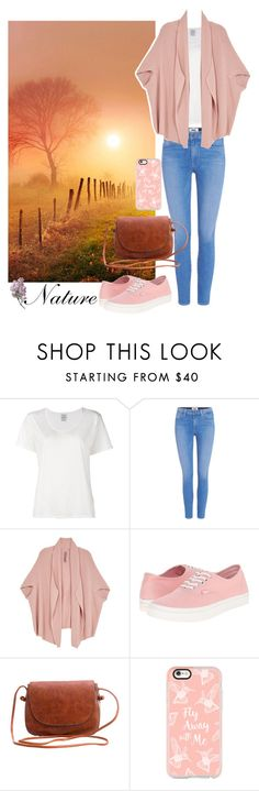 """""""Nature: Afternoon stroll"""" by sophasaurus ❤ liked on Polyvore featuring Visvim, Paige Denim, Melissa McCarthy Seven7, Vans, Casetify and plus size clothing"""