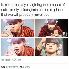 Every single photo of this man is just as beautiful and breathtaking as him #ShowUsTheSelcasJimin