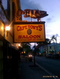 I went down to Captain Tony's, to get out of the heat.... I have that pic....last year from Key West :)