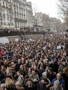 Paris Unity Rally: Millions Come Together in Solidarity for Charlie Hebdo and the kosher supermarket victims.