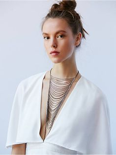 Free People Free Falls Chain Necklace, $398.00