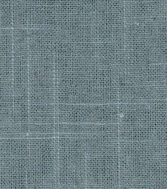 Upholstery Fabric-Robert Allen Linen Slub-Slate