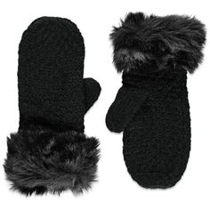 Forever 21 Faux Fur Mittens ($9.90) ❤ liked on Polyvore featuring accessories, gloves, faux fur mittens, faux fur gloves, forever 21, mitten gloves and forever 21 gloves