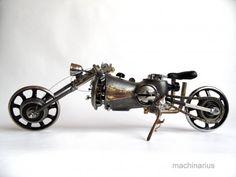 Mashinarius: потрясающие стимпанк роботы!
