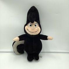 "Disney Store Peter Pan the Lost Boys Tootles Plush Skunk Soft Toy 13"" Stuffed #Disney"