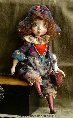 Кукла Эмилия. Handmade.