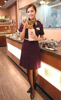 Singapore Airlines Flight Attendant Uniform Singapur