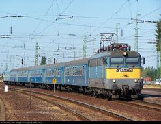 RailPictures.Net Photo: 95 55 1143 125-1 Hungarian State Railways (MÁV) V43 at Debrecen, Hungary by Máté Papp