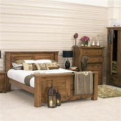 chunky wooden furniture