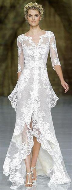"dailyweddingideas: "" Vintage wedding dresses are timelessly elegant and beautiful. Here are 113 beautiful vintage wedding dresses… You're gonna love #84! http://www.jollyweds.com/113-beautiful-vintage-wedding-dresses/ image source:..."