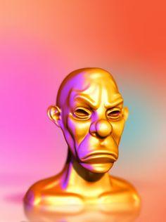 3D modeling by john zayas, via Behance