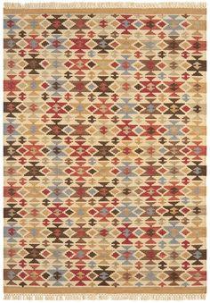 Teppich modernes Design KELIM KE05 RUG Wolle E103286 Wohndesign