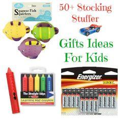 50+ stocking stuffer gift ideas for babies & kids #christmas