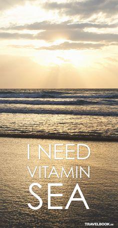 #Vitamin #Sea Könnte ich auch gerade brauchen. Und sowieso: Wer nicht? : )