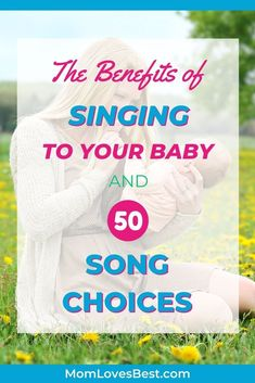 We'll let you know how singing to your baby benefits them. We're also sharing some of our favorite song choices from our own families. #parentinghacks #parentingtips #parenting #parenting101 Baby Songs, Baby Music, Advice For New Moms, Mom Advice, Infant Activities, Family Activities, 1st Time Moms, Babies First Words, Baby Singing